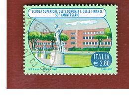 ITALIA REPUBBLICA  -   2007  SCUOLA DI ECONOMIA         -   USATO  ° - 6. 1946-.. Repubblica