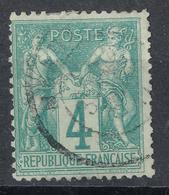 N° 63 NUANCE ET OBLITERATION. - 1876-1878 Sage (Type I)