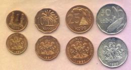 NIGERIA 1991 1993 Coins Set UNC - Nigeria
