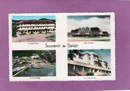 Viêt-Nam Souvenir De Dalat Multivues Le Lycée Yersin Gare De Dalat Le Grand Hôtel  Le Lang Biang - Vietnam