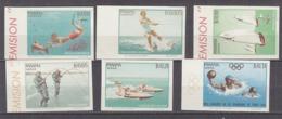 PGL - JEUX OLYMPIQUES 1964 PANAMA Yv N°399/400 + AERIENNE  ND ** TIRAGE 6500 - Panama