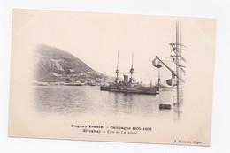 DUGUAY-TROUIN -  CAMPAGNE 1905-1906  -   GIBRALTAR - COTE DE L'ARSENAL - Gibraltar
