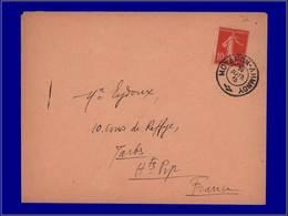 """Qualité:  – 138, Enveloppe, Cachet Grec """"Moyapon - Lhmnoy 20/7/15"""" Pour Tarbes. - Unclassified"""