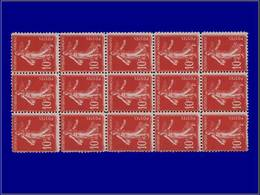 Qualité: XX – 138, Bloc De 15, Faux De Turin. Cote: 450 - Unclassified