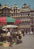 Postcard Brussels Market Place [ Markt ] My Ref  B22568 - Markets