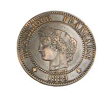 2 Centimes - Cérès - France - 1889 -  TTB - Patine - - B. 2 Centesimi