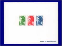 Qualité: EPL – 2318/20, épreuve Collective, (tirage 25): Liberté. Cote: 400 - Luxury Proofs