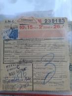 Document Colis Postal -  Colis 10 à 15 Kg 2eime Zone -  Côte  35.00 € N° 202 - Colis Postaux