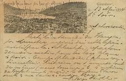 D-18-201 : GERARDMER. CARTE PRECURSEUR 1894. RARE. - Gerardmer