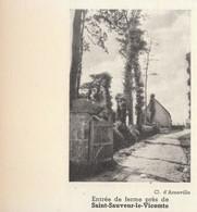 1935 - Iconographie - Saint-Sauveur-le-Vicomte (Manche) - Une Entrée De Ferme - FRANCO DE PORT - Unclassified