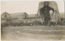 5 Real Photo WWI Montenegro  Camp , City, Cemetery - Montenegro