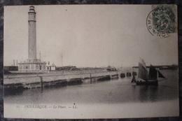 (59).DUNKERQUE.LOT DE 5 CPA/CPSM.LE PHARE.QUAIS.BASSINS.RUE DE L'EGLISE. - Dunkerque