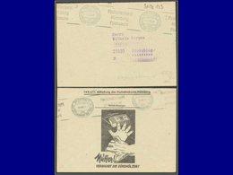 """Qualité:  – Allemagne, Enveloppe CCP 7/10/42, Illustrée Mains D'enfant Et Boite D'allumettes """"Mutter Verwahrt Zundholzer - Childhood & Youth"""