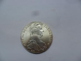 AUSTRIA THALER MARIA TERESA REACUÑACION PLATA  Peso: 28,02 G EBC - Autriche