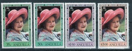 Anguilla Set Of Stamps To Celebrate 80th Birthday Of The Queen Mother. - Anguilla (1968-...)