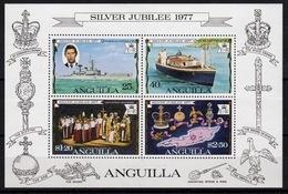 Anguilla Mini Sheet To Celebrate Silver Jubilee 1977. - Anguilla (1968-...)