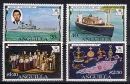 Anguilla Set Of Stamps To Celebrate Silver Jubilee 1977. - Anguilla (1968-...)