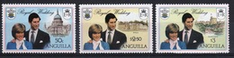 Anguilla Set Of Stamps To Celebrate The Royal Wedding 1981. - Anguilla (1968-...)