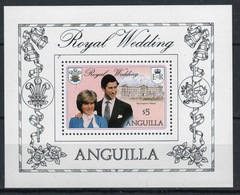 Anguilla Mini Sheet To Celebrate The Royal Wedding 1981. - Anguilla (1968-...)