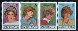 Anguilla Set Of Stamps To Commemorate Diana Princess Of Wales. - Anguilla (1968-...)