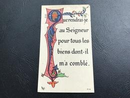 713 - «que Rendrai-je Au Seigneur Pour Tous Les Biens Dont Il M'a Comblé» - Devotieprenten