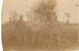 PHOTO  ORIGINALE  SOLDAT EN CAMPAGNE GUERRE DE 14/18  FORMAT  6.50 X 4 CM - Guerre, Militaire