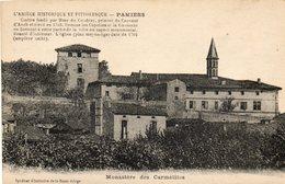 Pamiers....monastere Des Carmelites...syndicat D Initiative De La Basse Ariege... - Pamiers