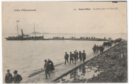 CPA 35 - SAINT MALO (Ille Et Vilaine) - 308. Le Débarcadère Du Petit-Bé - HLM - Saint Malo