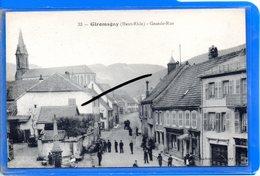 CPA 90 - GIROMAGNY - Grande-Rue - Giromagny