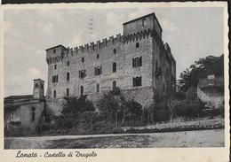 LOMBARDIA - LONATO - CASTELLO DI DRUGOLO - FOTOEDIZ. FERRARI ANNI '30 - VIAGGIATA DA BRESCIA 1936 - Autres Villes