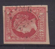 """FRANCE : PC 1896 . """" MARSEILLE  """" . SUR TP ESPAGNOL . TB . 1860 . - Marcophilie (Timbres Détachés)"""