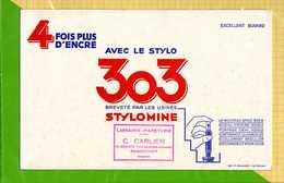 BUVARD & Blotting Paper  : Stylo 303  Stylomine Remiremont - Papeterie