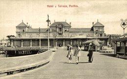 URUGUAY MONTEVIDEO POCITOS LA TERRAZA Y HOTEL     URUGUAY - Uruguay