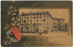 Geneve Hotel Beau Rivage  Edit D'Jilin Et Jacom Timbrée De Bouveret à Bailly Seine Et Oise - GE Geneva