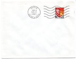 SEINE Et OISE - Dépt N° 78 = MAISSE 1965 =  FLAMME DERNIER MOIS Du Département  = SECAP Muette '5 Lignes Ondulées' - Postmark Collection (Covers)