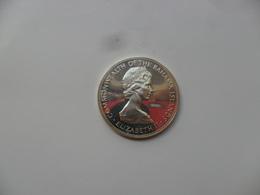 BAHAMAS 5 DOLLARS 1971 AG 925 , PESO 45,12 -45mm  PROOF  KM#24 - Bahamas