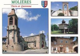 82 MOLIERES / MULTIVUES / BLASON - Molieres