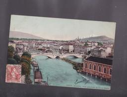 SUISSE, GENEVE , Vue Générale Et Le Mont Blanc - GE Genève