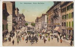 Biel Bienne Rue Dufour Magasin Optique Photographie Burren  Fete Fanfare - BE Berne