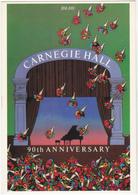 MILTON GLASER  Ed Art Unlimited N°A2851 - Peinture  Publicité Carnegie Hall Concert Piano - CPM 10,5x15 TBE 1981 Neuve - Künstlerkarten