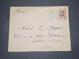 INDOCHINE - Entier Postal Du Cambodge Pour La France En 1914 - L 16503 - Indochina (1889-1945)