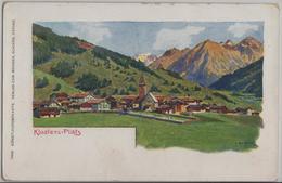 Kosters-Platz - Künstlerkarte F. Beurmann - GR Grisons