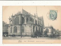62 MONTARGIS ABSIDE DE L EGLISE CPA BON ETAT - Montargis