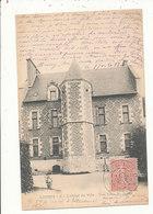 62 LORRIS HOTEL DE VILLE VUE PRISE DU JARDIN CPA BON ETAT - France