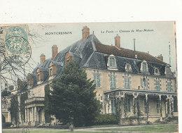 62 MONTCRESSON LA FORET CHATEAU DE MAC MAHON CPA BON ETAT - Frankreich