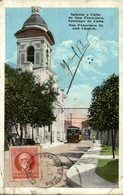 SANTIAGO DE CUBA  IGLESIA Y CALLE SAN FRANCISCO - Cuba