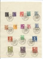 Germany , Allied Occupation After WW2, Commemoration Page Export Fair 1947  (as Per Scan ) Used - Zone AAS