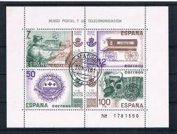 Spanien 1981 Block 24 Gestempelt - 1931-Heute: 2. Rep. - ... Juan Carlos I