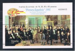 Spanien 1995 Gemälde Block 61 ** - 1991-00 Ungebraucht