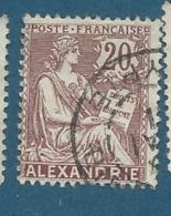 Alexandrie    - Yvert N°   26  Oblitéré   - Bce 11724 - Used Stamps